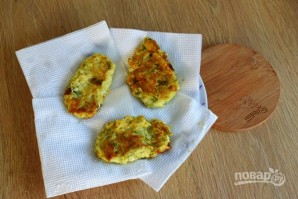 Оладьи из кабачков на сковороде - фото шаг 5