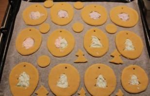 Новогоднее печенье на елку - фото шаг 6