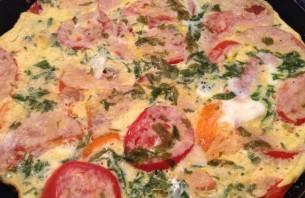 Жареные кабачки с помидорами и яйцом - фото шаг 3