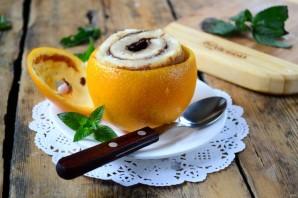 Цинамоновые роллы в апельсиновой корке - фото шаг 6