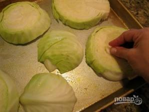 Запеченная капуста в духовке - фото шаг 2