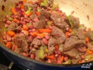 Красная фасоль с мясом - фото шаг 6
