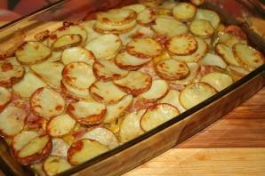 Кабачки с картошкой в духовке - фото шаг 4