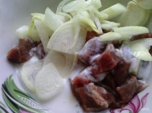 Рецепт мяса с овощами в рукаве - фото шаг 2