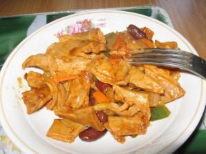 Соевое мясо для похудения - фото шаг 3