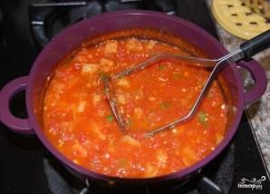 Помидорный суп - фото шаг 4