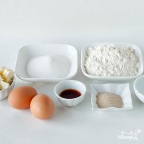 Ванильный хлеб - фото шаг 1