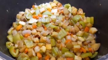 Овощное соте с кабачком и баклажаном - фото шаг 4