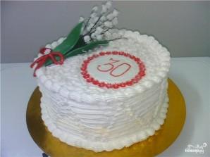 Торт для девушки на 30 лет - фото шаг 9
