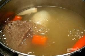 Суп гороховый с сухариками - фото шаг 3