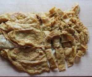 Салат мясной с грибами - фото шаг 3