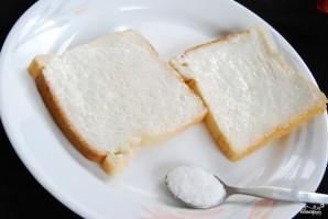 Бутерброд с помидорами - фото шаг 2