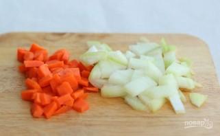 Куриная печень с овощами - фото шаг 1