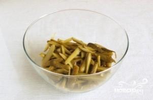 Салат по-строгановски - фото шаг 3
