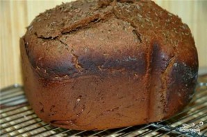 Хлеб рижский в хлебопечке - фото шаг 4