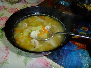 Легкий куриный суп - фото шаг 6