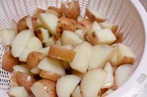 Теплый салат с беконом - фото шаг 5