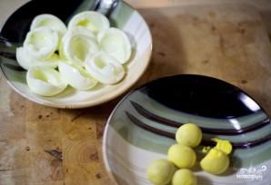 Куриный салат с грибами - фото шаг 4