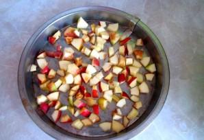 Яблочная шарлотка на скорую руку - фото шаг 2