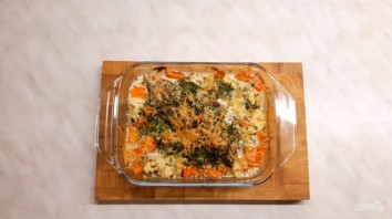 Рыба, запеченная с овощами (гратен) - фото шаг 4
