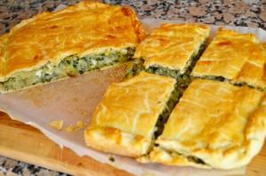 Быстрый пирог с капустой - фото шаг 9