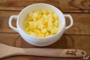 Пирожки с яблоком из дрожжевого теста - фото шаг 2