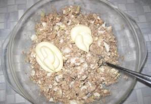 Бутерброды с сайрой и яйцом - фото шаг 7