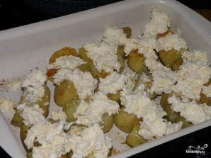 Печеный картофель в духовке - фото шаг 9