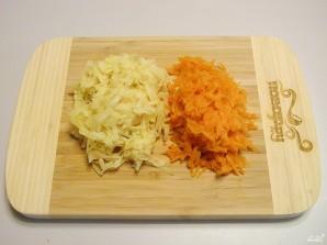 Слоеный салат с курицей - фото шаг 5