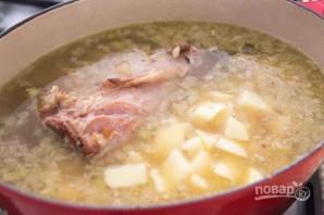 Суп с ветчиной и картофелем - фото шаг 3