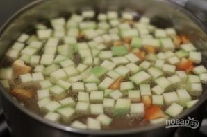 Овощной суп с орегано - фото шаг 5