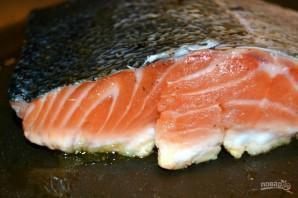 Жареная красная рыбка - фото шаг 3
