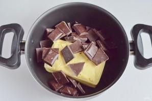 Шоколадные пирожные со вкусом миндаля - фото шаг 2