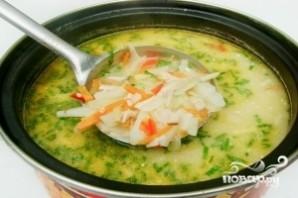 Суп грибной с плавленым сыром - фото шаг 12