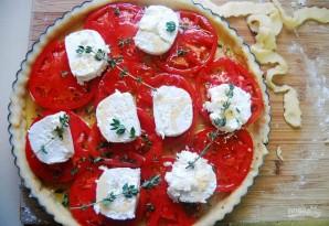 Тарт с помидорами и сыром - фото шаг 4