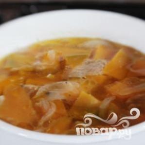 Суп из тыквы с шалфеем - фото шаг 1