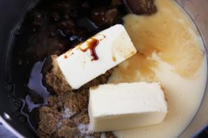 Яблоки в карамели и шоколаде - фото шаг 3