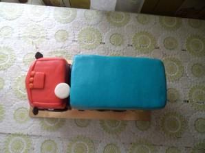 """Торт """"Камаз"""" - фото шаг 11"""