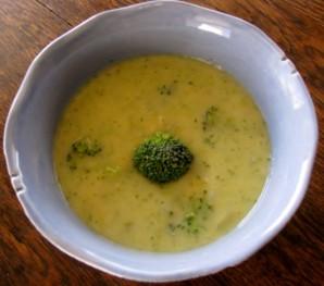 Суп с брокколи и сыром - фото шаг 7