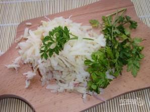 Салат из печени куриной слоями - фото шаг 2