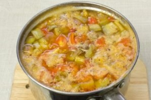 Вегетарианский суп-пюре из чечевицы - фото шаг 11