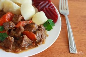 Калопс (тушеное мясо) - фото шаг 6