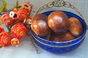 Печеные пирожки из дрожжевого теста - фото шаг 8