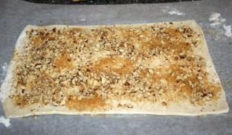Печенье из слоеного теста - фото шаг 3