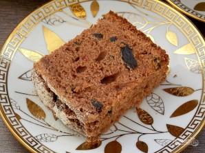 Кекс шоколадный с черносливом - фото шаг 11