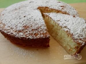 Рецепт пирога (манник на кефире) - фото шаг 8