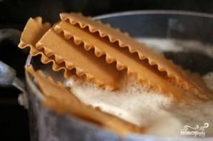 Лазанья с грибами и шпинатом - фото шаг 1