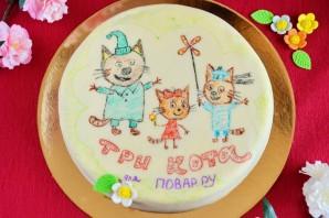 """Торт """"Три кота"""" - фото шаг 16"""