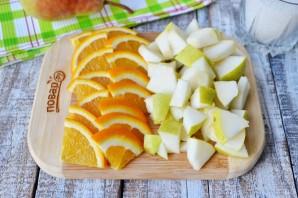 Варенье из груш с апельсином - фото шаг 2