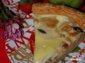 Яблочный пирог из слоеного бездрожжевого теста - фото шаг 13